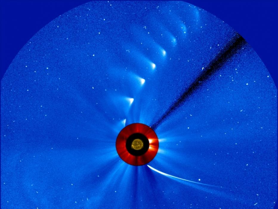 El encuentro del cometa Ison con el Sol
