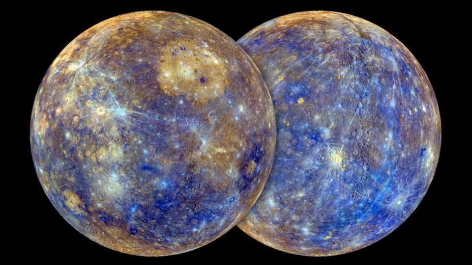 Retrato de Mercurio