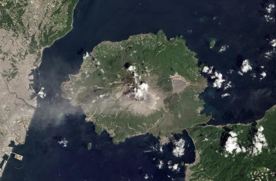 Volcán Sakura-jima