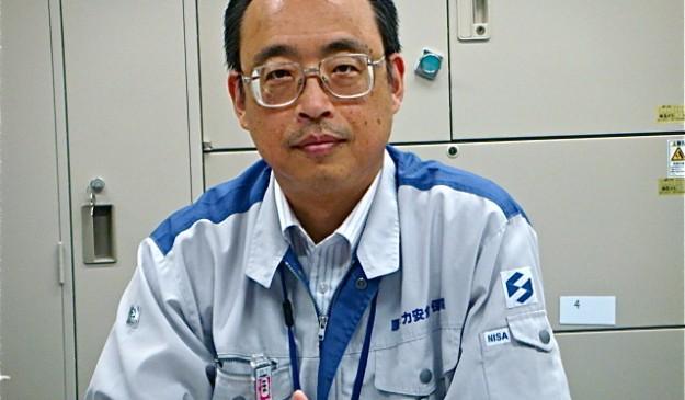 Makoto Watanabe, en las instalaciones de la NISA.