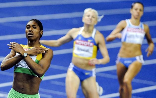 La atleta surafricana Caster Semenya.