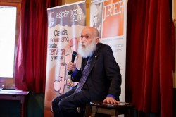 James Randi, en Madrid.