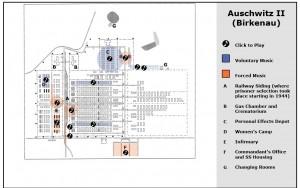 Mapa musical de Auschwitz
