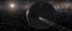 El agua viajó en meteoritos por el Sistema Solar
