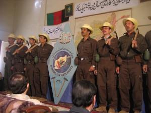 Geólogos afganos