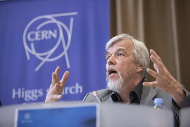 Rolf Heuer, durante el anuncio del pasado martes.