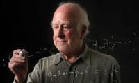 El físico británico Peter Higgs