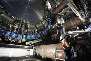 Imagen del detector ATLAS, en el CERN.