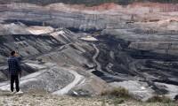 Mina de carbón a cielo abierto en Estercuel (Teruel)