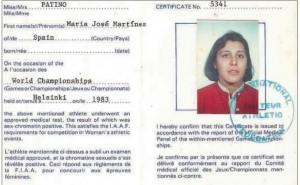 Certificado de feminidad