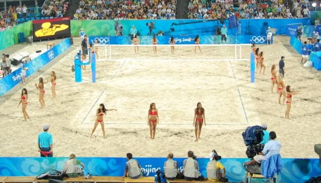 Volley playa Pekín 2008