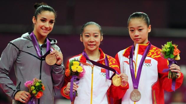 Medallistas gimnasia artística