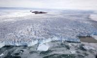 Corriente de hielo en el noroeste de Groenlandia