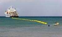 Instalación de cable submarino.