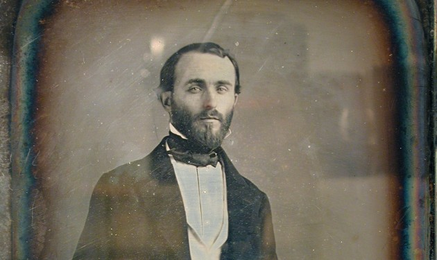 Daguerrotipo de Juan Vilanova, hacia 1850