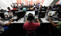 Usuarios de internet en el evento Campus Party de Valencia