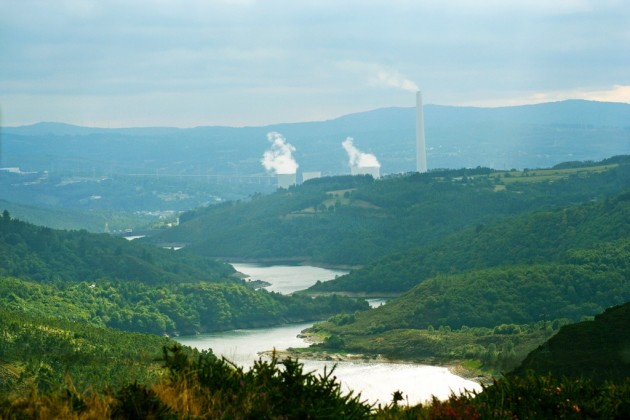 Central térmica de As Pontes (A Coruña), alimentada por carbón y gas natural