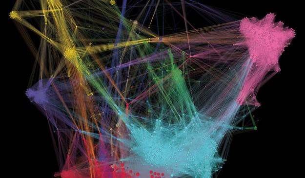 Gráfico que conecta estudios de genoma completo en busca de 'snips'