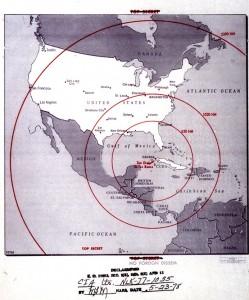 Alcance de los misiles soviéticos