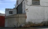 Grietas en un edificio tras el colapso de la mina de La Unión