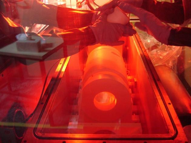 Imagen del experimento Anais, en Canfranc.