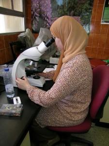 Una de las autoras marroquíes del estudio, Nadia Aboulaich