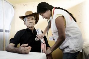 Un paciente de mal de Chagas en Arauca, en la frontera entre Colombia y Venezuela