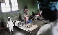 Centro de salud en Ngilima (República Democrática del Congo), territorio de la enfermedad del sueño