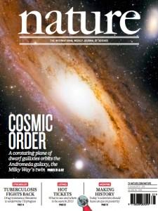 Portada del último número de la revista 'Nature'