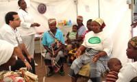 Un médico del ISGlobal en el Centro de Investigación en Salud de Manhiça (Mozambique)