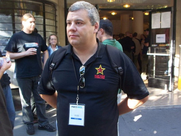 Tristan Nitot, 'evangelizador' de Mozilla.