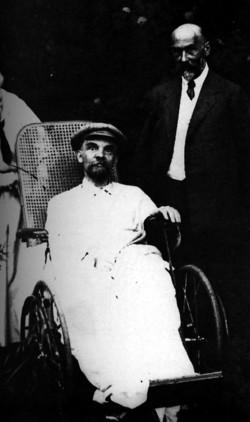 Lenin en Gorki