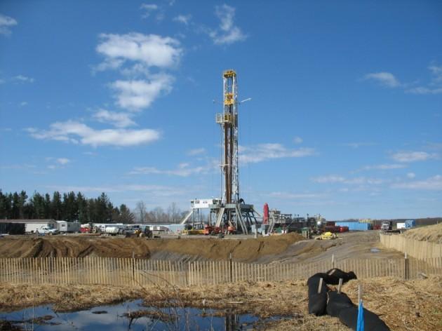 Un proyecto de 'fracking' en EEUU