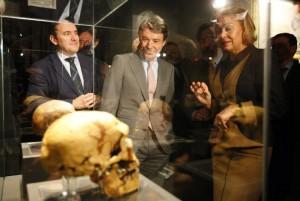 El presidente de la Comunidad de Madrid, Ignacio González, en el Museo Arqueológico Regional
