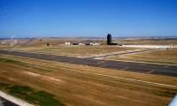 Pista del aeropuerto privado de Ciudad Real, una de las mayores de Europa