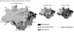 Mapas de deforestación