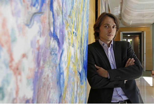 El físico Mariano Campoy, antes de la entrevista