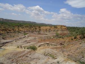 Una de las zonas de Falcón (Venezuela) donde se han hallado fósiles
