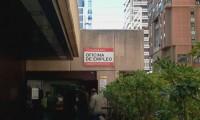 Una oficina del paro en Madrid.