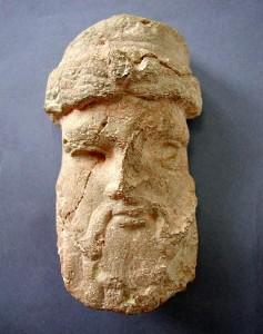 Escultura de hace 2.600 años representando posiblemente a un rey tartesio