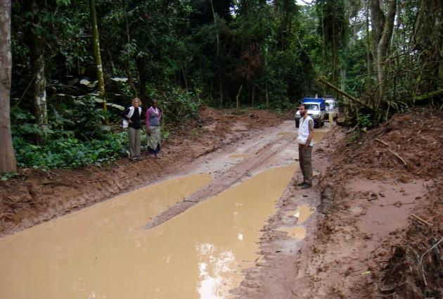 Llegar a los pigmeos del norte de Congo fue un reto logístico para MSF
