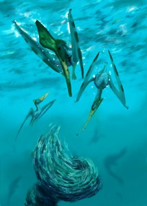 Pteranodon fishes