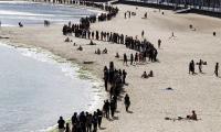 Manifestación contra las prospecciones en Lanzarote.