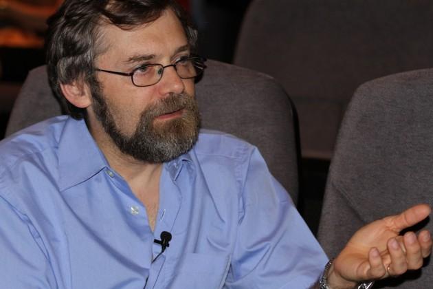 El primatólogo Josep Call, durante la entrevista.