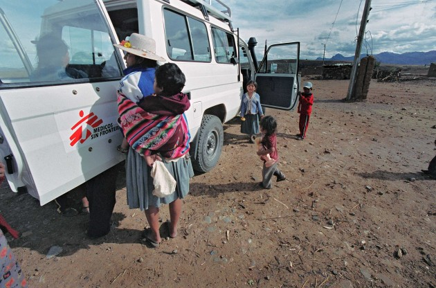 Una misión de MSF busca enfermos de chagas en la región de Sucre (Bolivia)