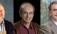 James Rothman, Thomas Südhof y Randy Schekman, premios Nobel de Medicina 2013.