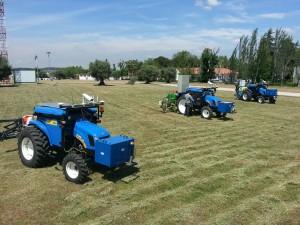 Prototipos de tractores sin conductor en el Centro de Automática y Robótica