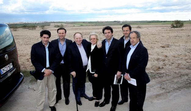 Adelson visita los terrenos de Alcorcón antes de decidir dónde se ubicará finalmente Eurovegas.