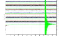 Señal sísmica del terremoto sentido en El Hierro.
