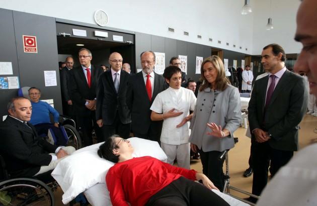 La ministra de Sanidad, Ana Mato, poco después de aprobarse el decreto criticado en 'The Lancet'.